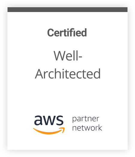 Certified Well- Architected